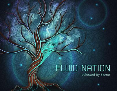 """Visuel pour l'EP """"Fluid Nation"""""""