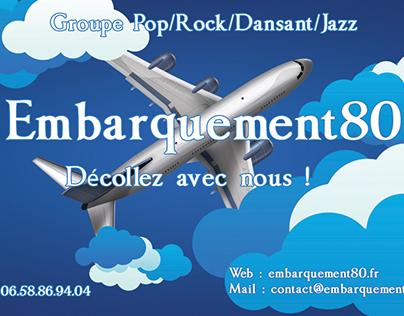 Carte de visite - Groupe Embarquement80.fr