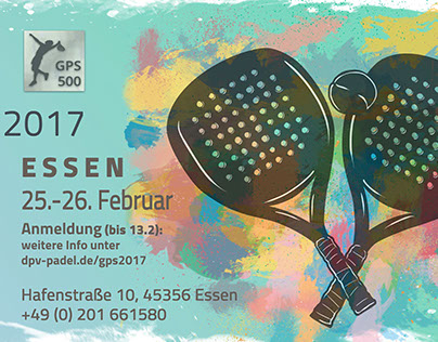 German Padel Series 2017 - Facebook Branding