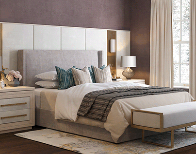 Townhouse, London bedroom design