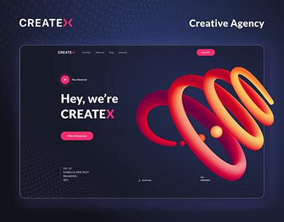 Creative Studio Website Concept