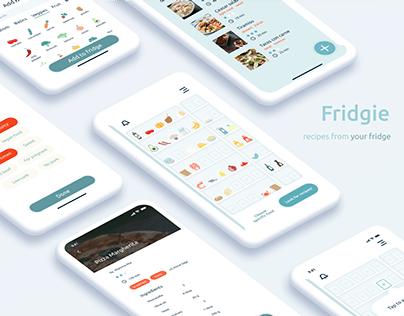Fridgie — easy app for cooking lovers