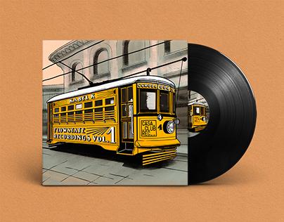 Vinyl Cover | Kable K (Casa Club Records)