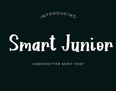 Smart Junior Handwritten Serif Font