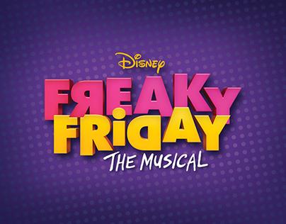Freaky Friday the Musical Branding