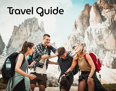 Travel Guide App Design