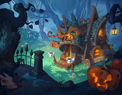Environment Concept Art: Witch's House