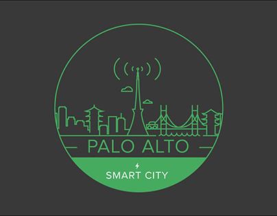 Palo Alto Smartcity Logo Design