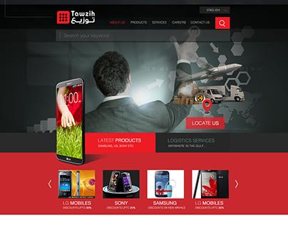 Tawzih Web UI/UX