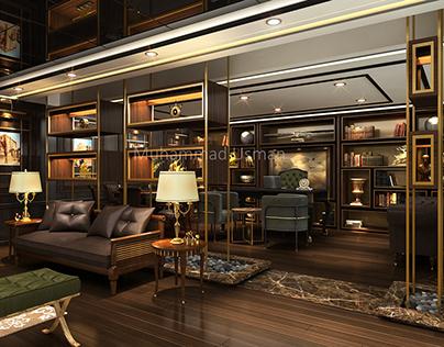 Bank Alfalah CEO Room
