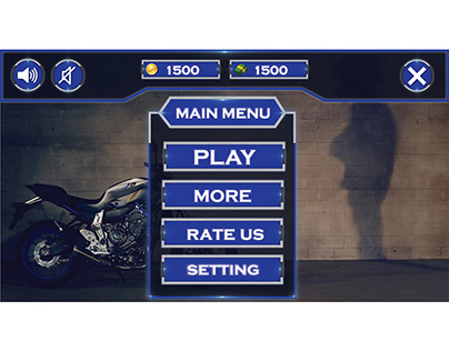 bike game main page