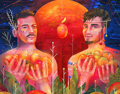 "Chłopaki ""Mango"" – illustration & animation"