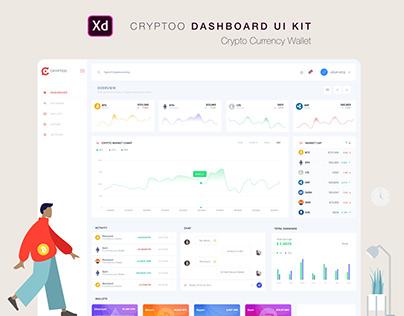Cryptoo DASHBOARD Ui KIT