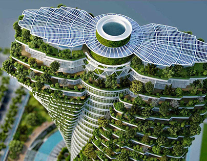 Tao Zhu Yin Yuan in by Vincent Callebaut Architectures