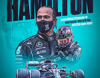 Lewis Hamilton | 92 Wins