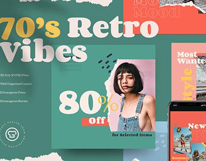 70's Retro Insta Pack