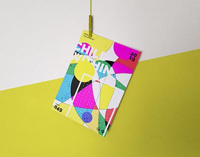 A4 Hanging Poster Mockup