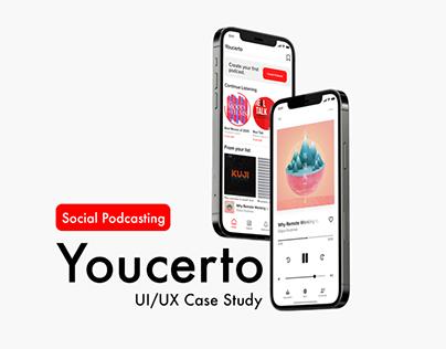 Youcerto UI/UX Design
