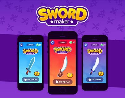 Sword Maker Game - GUI