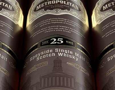 Scottish Metropolitan Single Malt Scotch Whisky