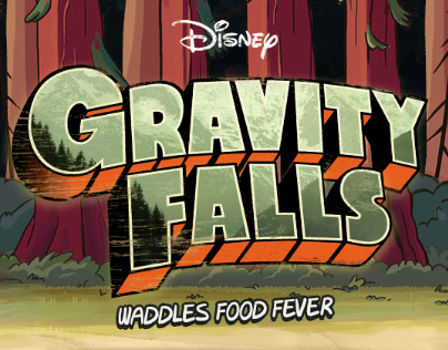 Disney - Gravity Falls - Waddles Food Fever