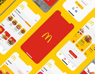 App McDonald's • Redesign