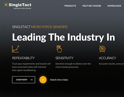 Single Tact Home page