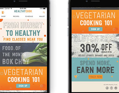 Healthy Cook Mobile App