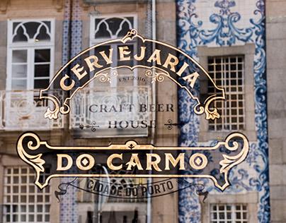 Cervejaria do Carmo branding