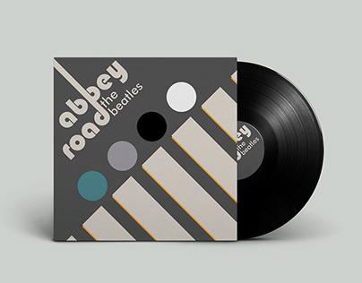 DA - Capa Disco de Vinil - Inspiração Bauhaus