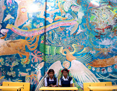 Mural / Let's talk about story of big sky.