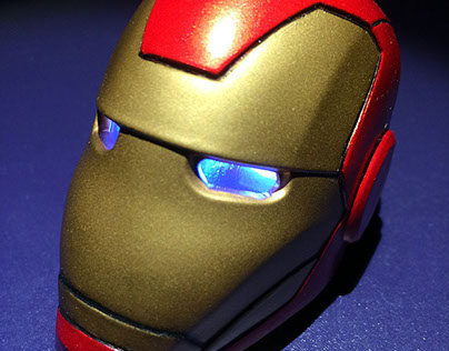 Iron Man Custom Mini Helmet