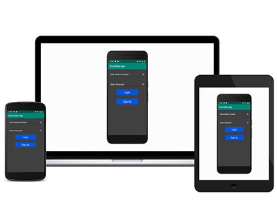 Food Sales App Kotlin - PayPal