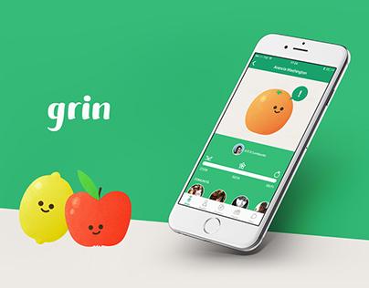 Grin — Plant-adopting app
