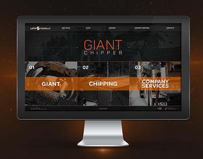 Finland web-site Giant chipper