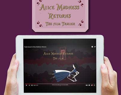 Alice Madness Returns Game Trailer Version