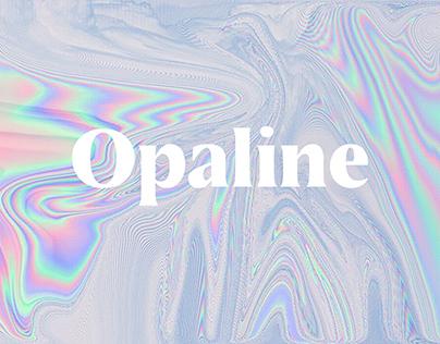 Opaline typeface