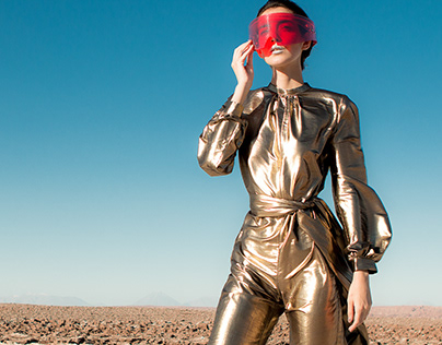Mission to Mars for Ladygunn Magazine
