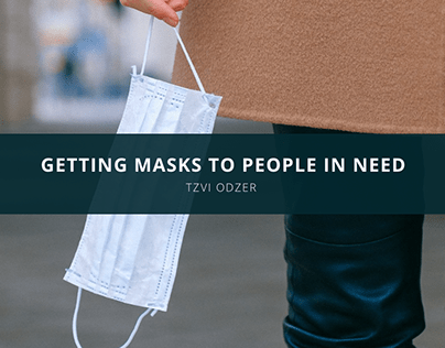 Getting Masks To People In Need: How Tzvi Odzer Is Do