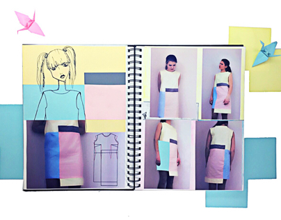 Проектирования женского платья