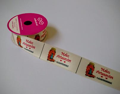 Rollos de cinta estampados para clientes varios