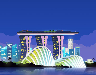 Hopper city illustrations 5