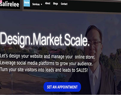 salirelee.com Webdesign and Ecommerce services