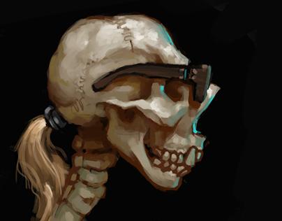 Orcs, Skulls and Monkeys - Illustrations 2015
