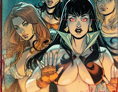 Red Sonja & Vampirella meet Betty & Veronica #5 Cover!