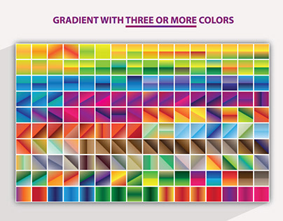 3 or More Colors Gradient 1