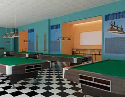 Puyat Sports Billiard Area Design Proposal