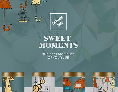 Sweet Moments / Branding, Logo Design