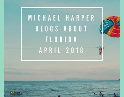 Michael Harper's Blogs about Florida April 2018