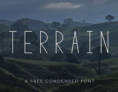 TERRAIN - FREE FONT